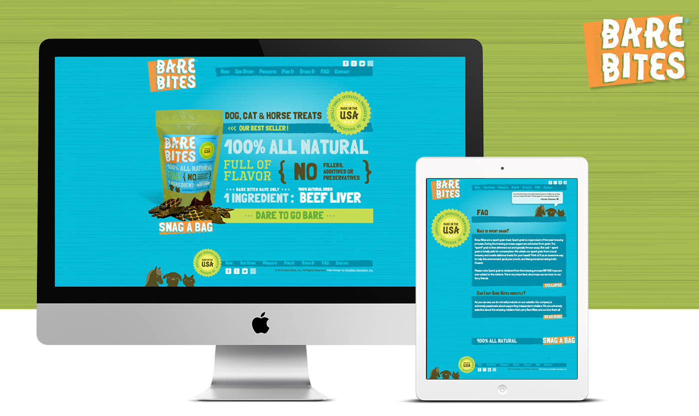 670532d9fad Web Design Portfolio by HindSite Interactive - Award winning website ...